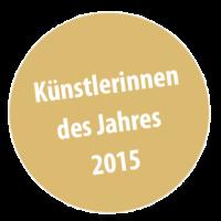 Künstlerinnen des Jahres 2015